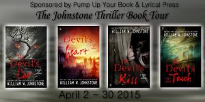 The Johnstone Thriller Book Banner